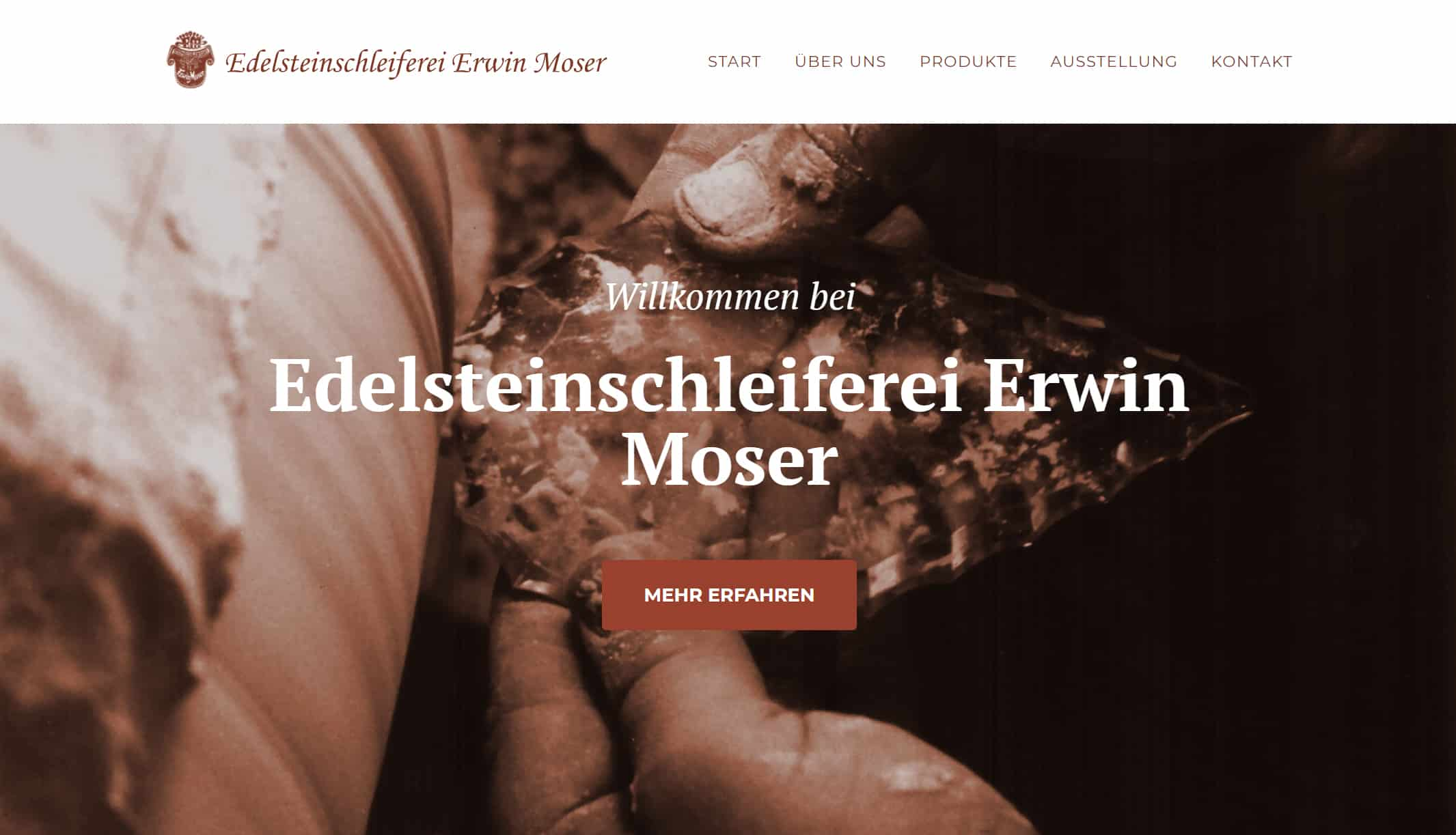 Referenz OnePage Erwin Moser